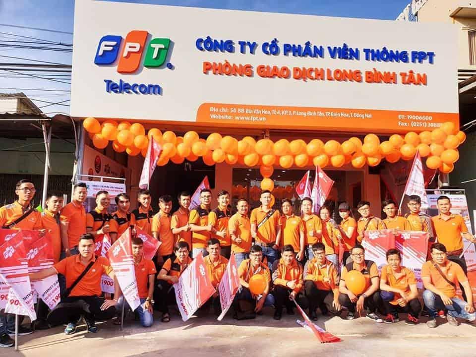 FPT Đồng Nai khai trương văn phòng giao dịch Long Bình Tân
