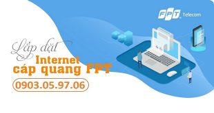 Lắp đặt internet cáp quang FPT 1