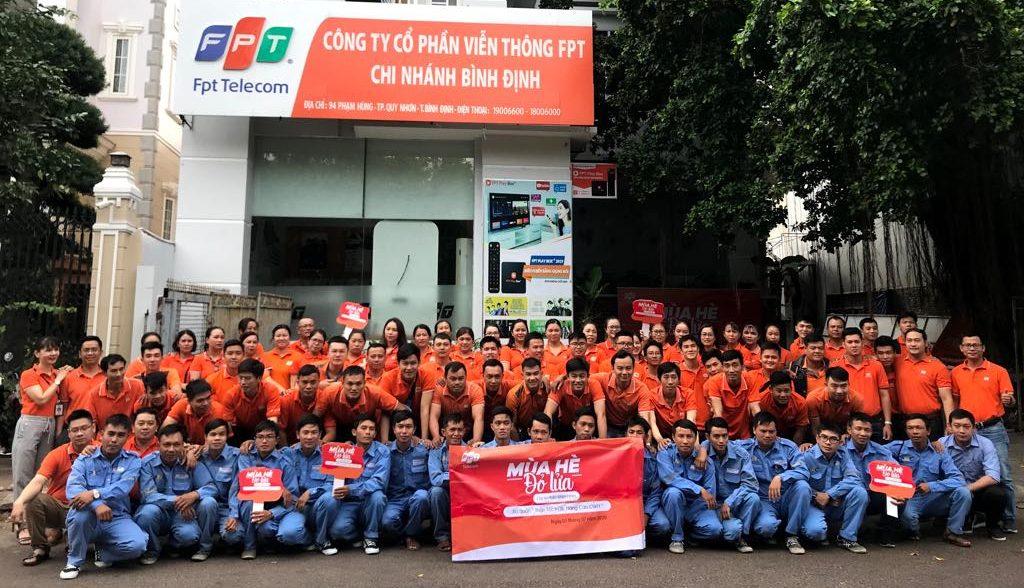 Lắp đặt internet FPT Bình Định