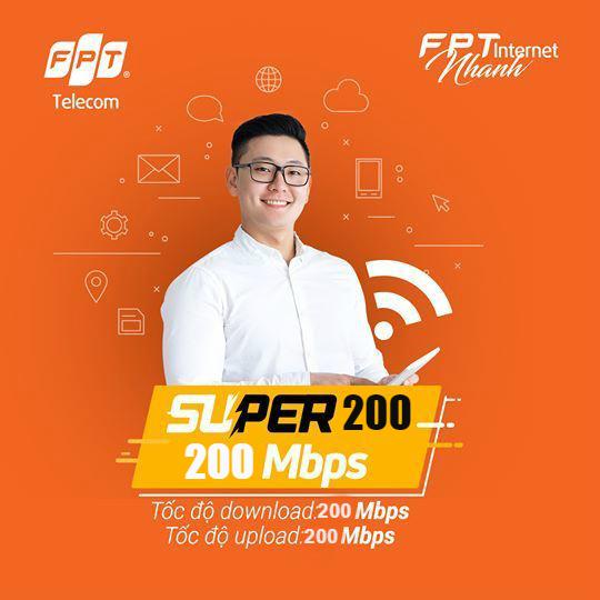 Gói cước Super 200 mbps