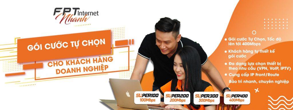 Gói cước lắp mạng FPT cho doanh nghiệp