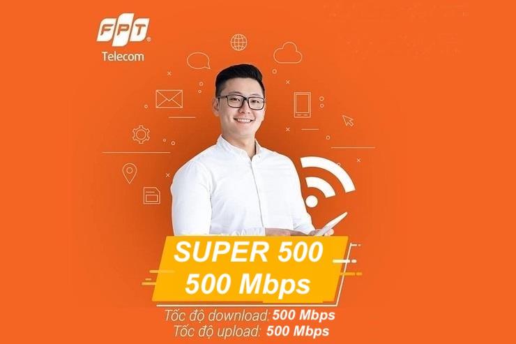 Gói cước Super 500 Mbps
