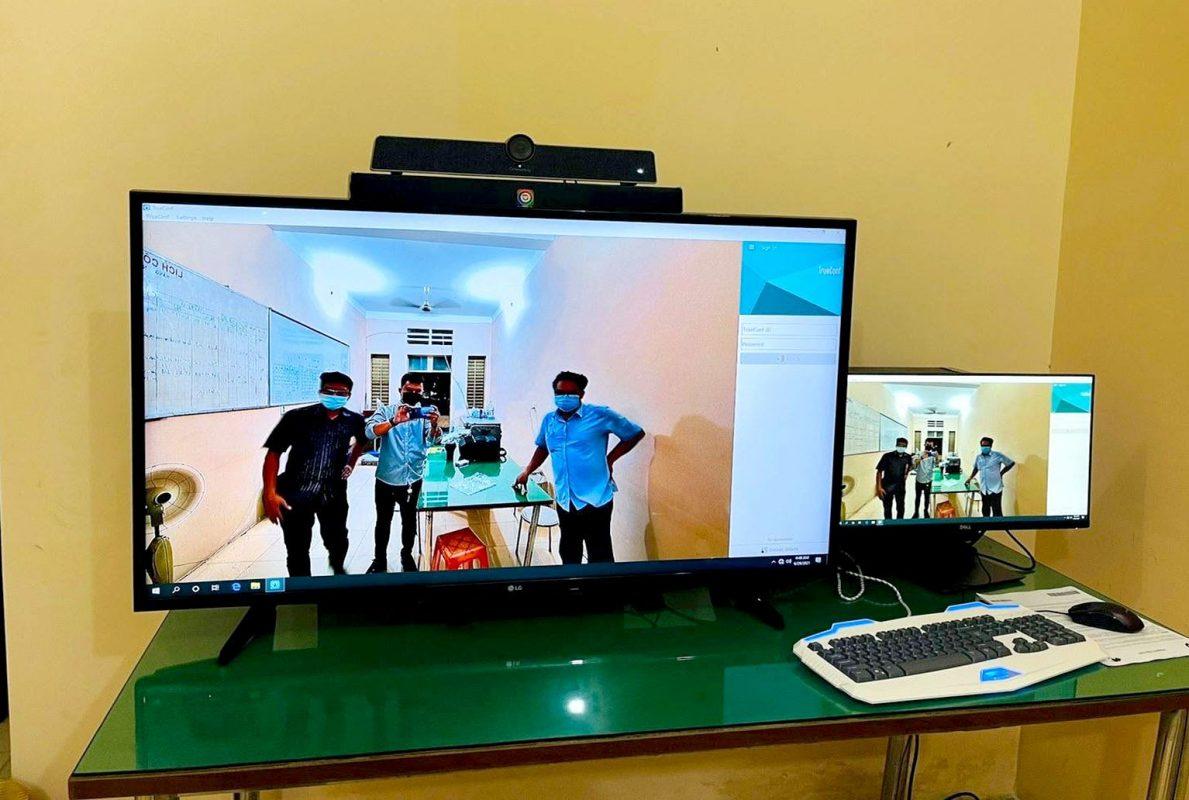 FPT Telecom lắp đặt các thiết bị công nghệ cho Bệnh viện Dã chiến Thủ Đức