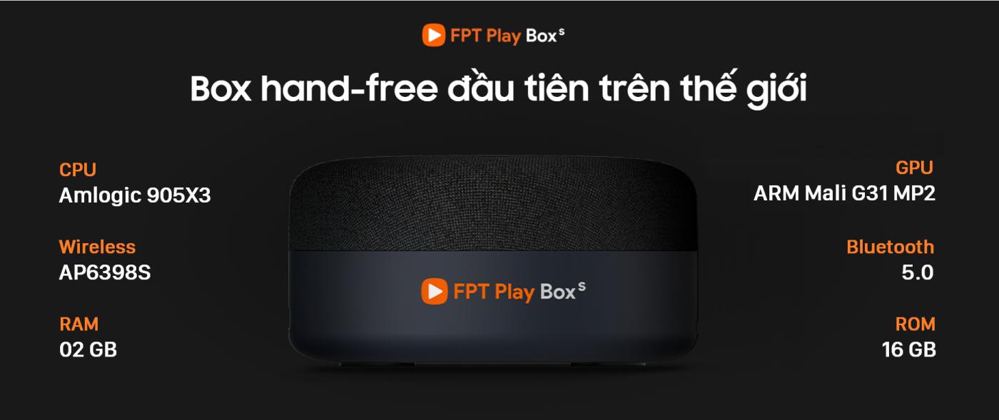Cấu hình FPT Play Box S