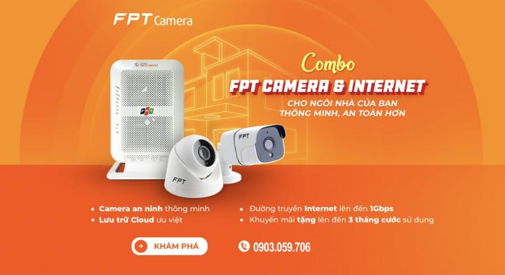 Combo internet và camera FPT