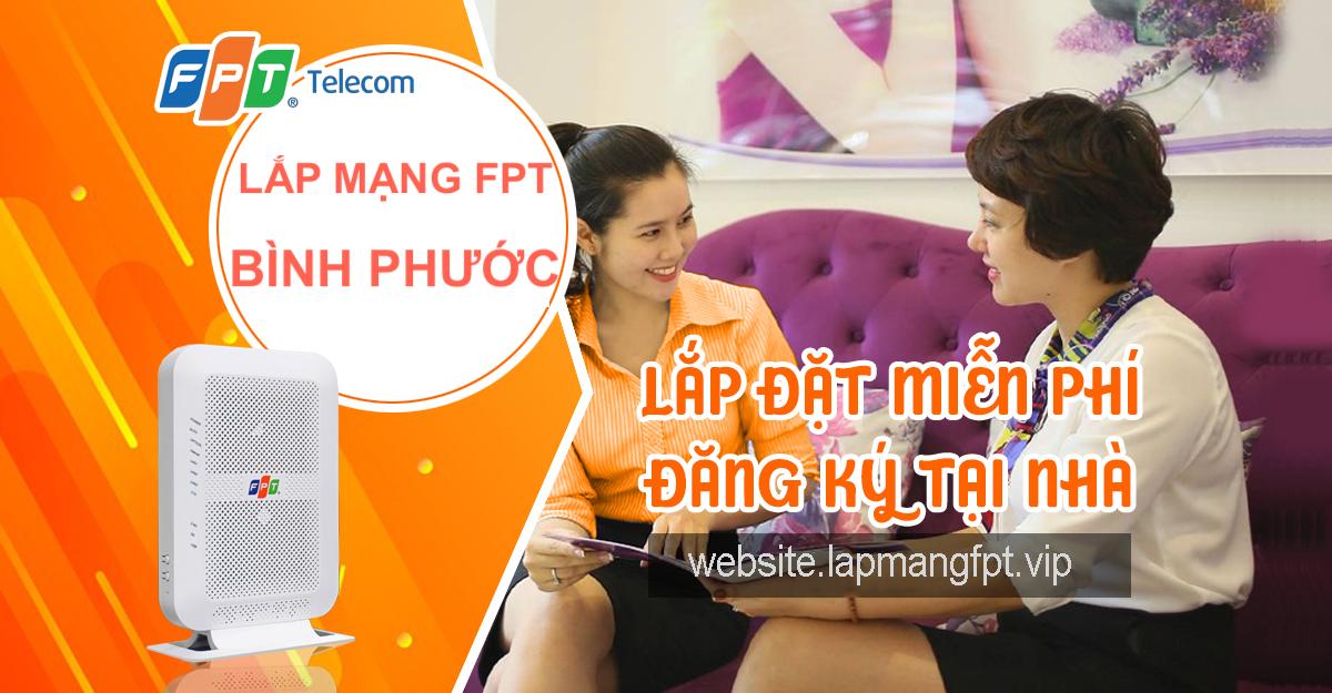 Lắp mạng FPT Bình Phước