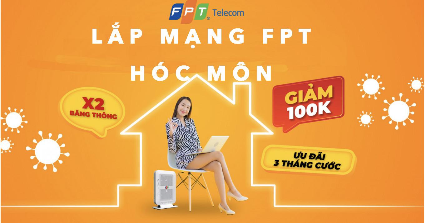 Lắp mạng FPT Hóc Môn