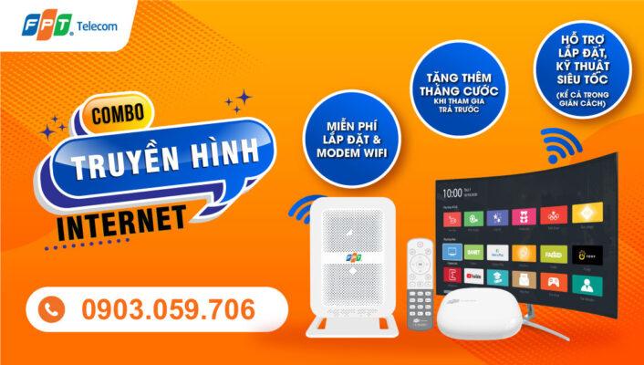 Gói combo internet và truyền hình FPT