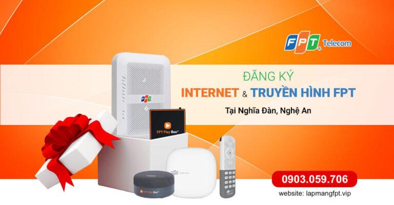 Lắp mạng Internet và Truyền hình FPT tại Nghệ An