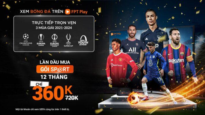 Gói Sport trên FPT Play